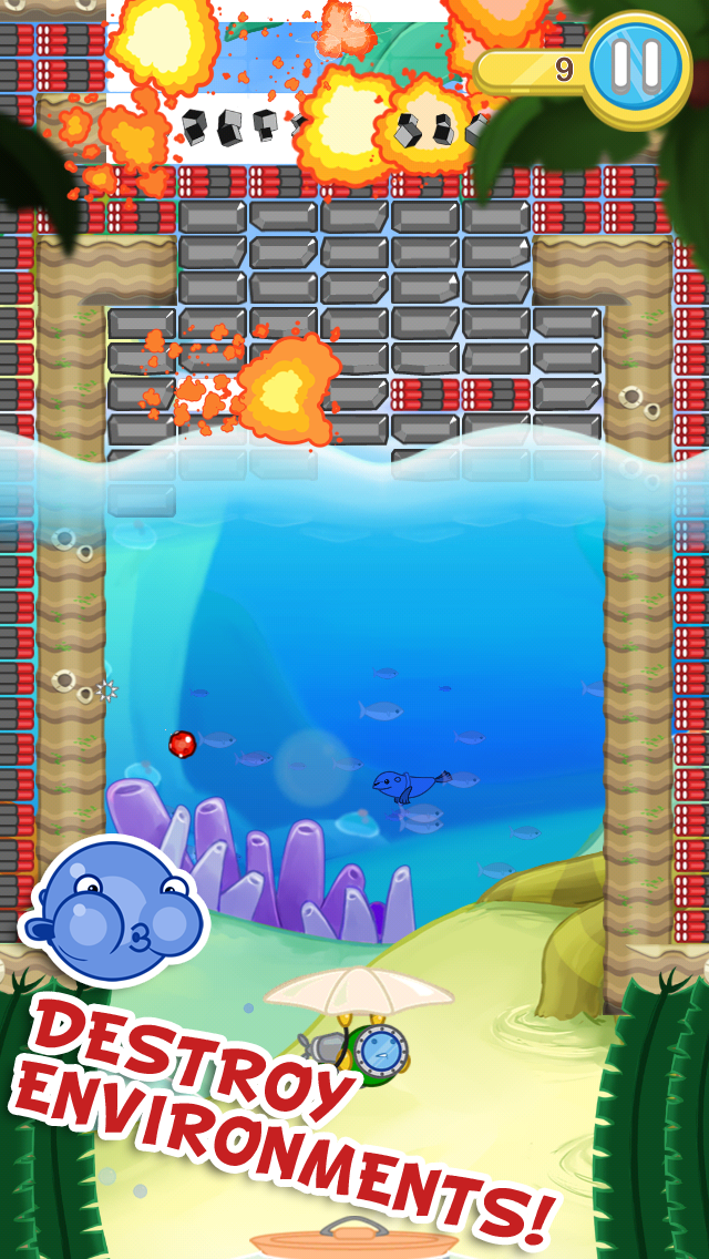 Blowfish Meets Meteor Screenshot