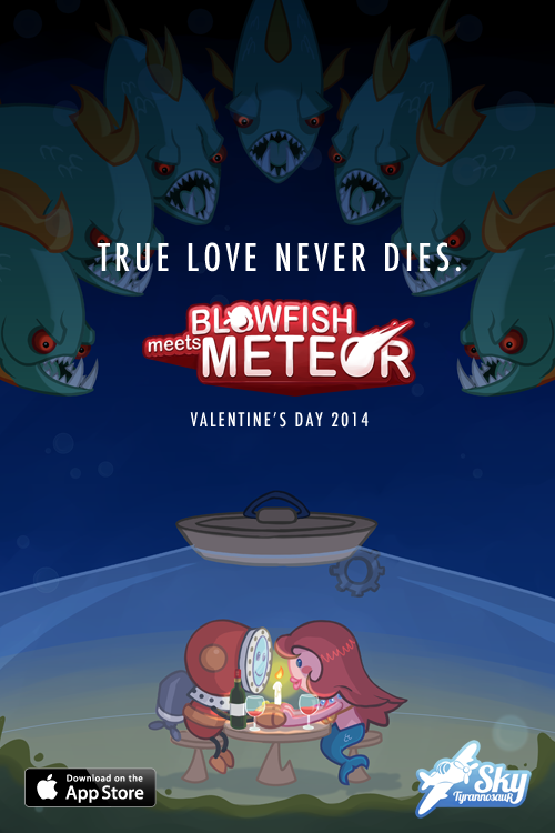 Blowfish Meets Meteor launches Valentine's Day 2014