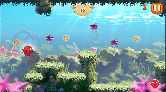 In-game screenshot of World 1.