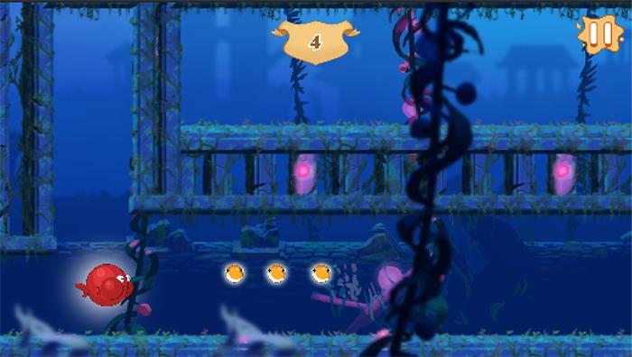 In-game screenshot of World 2.